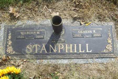 STANPHILL, WILBURN MCKINLEY - Benton County, Arkansas | WILBURN MCKINLEY STANPHILL - Arkansas Gravestone Photos