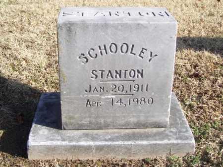 STANTON, SCHOOLEY - Benton County, Arkansas   SCHOOLEY STANTON - Arkansas Gravestone Photos