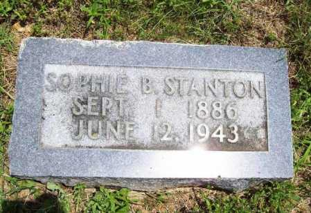 STANTON, SOPHIE B. - Benton County, Arkansas | SOPHIE B. STANTON - Arkansas Gravestone Photos
