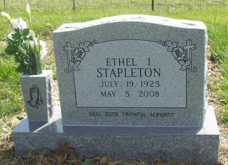 STAPLETON, ETHEL I. - Benton County, Arkansas | ETHEL I. STAPLETON - Arkansas Gravestone Photos