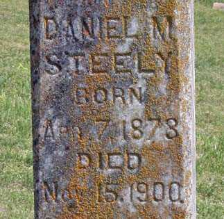 STEELY, DANIEL M. (CLOSEUP) - Benton County, Arkansas   DANIEL M. (CLOSEUP) STEELY - Arkansas Gravestone Photos