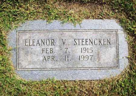 STEENCKEN, ELEANOR V. - Benton County, Arkansas   ELEANOR V. STEENCKEN - Arkansas Gravestone Photos