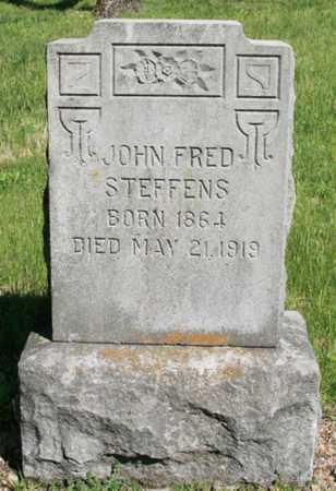 STEFFENS, JOHN FRED - Benton County, Arkansas | JOHN FRED STEFFENS - Arkansas Gravestone Photos