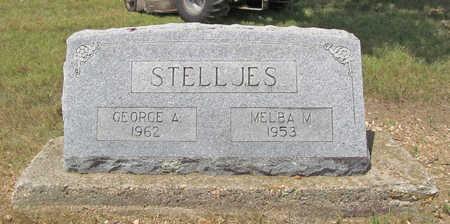 STELLJES, GEORGE A - Benton County, Arkansas   GEORGE A STELLJES - Arkansas Gravestone Photos