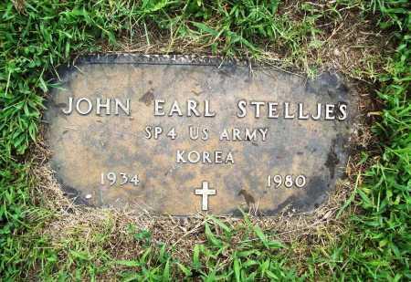STELLJES (VETERAN KOR), JOHN EARL - Benton County, Arkansas   JOHN EARL STELLJES (VETERAN KOR) - Arkansas Gravestone Photos