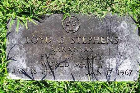 STEPHENS (VETERAN WWII), LOYD E. - Benton County, Arkansas | LOYD E. STEPHENS (VETERAN WWII) - Arkansas Gravestone Photos