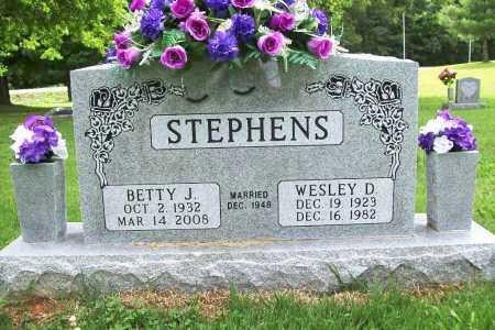 STEPHENS, BETTY JANE - Benton County, Arkansas | BETTY JANE STEPHENS - Arkansas Gravestone Photos