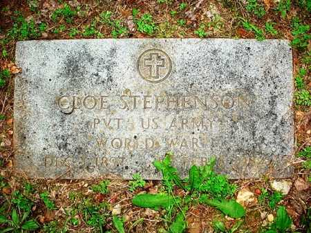 STEPHENSON (VETERAN WWI), CLOE - Benton County, Arkansas   CLOE STEPHENSON (VETERAN WWI) - Arkansas Gravestone Photos