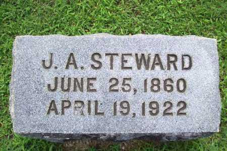 STEWARD, JOHN A - Benton County, Arkansas | JOHN A STEWARD - Arkansas Gravestone Photos