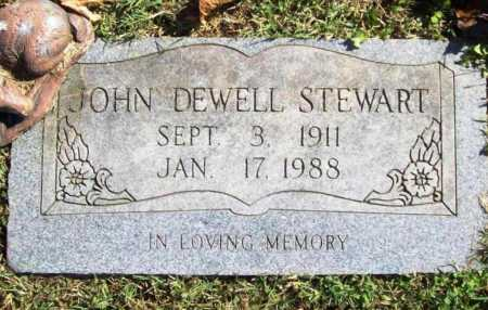 STEWART, JOHN DEWELL - Benton County, Arkansas | JOHN DEWELL STEWART - Arkansas Gravestone Photos