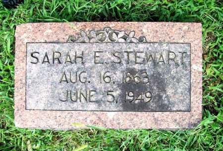 STEWART, SARAH E. - Benton County, Arkansas | SARAH E. STEWART - Arkansas Gravestone Photos