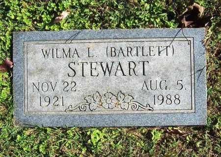 BARTLETT STEWART, WILMA L. - Benton County, Arkansas | WILMA L. BARTLETT STEWART - Arkansas Gravestone Photos