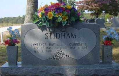 STIDHAM, LAWRENCE RAY - Benton County, Arkansas   LAWRENCE RAY STIDHAM - Arkansas Gravestone Photos