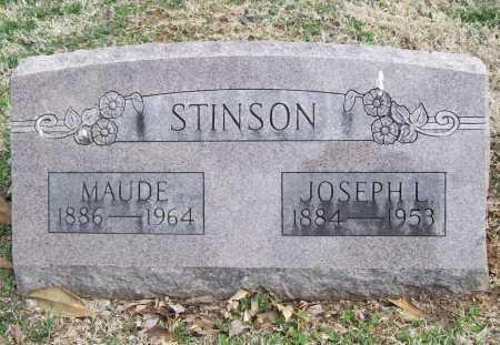 STINSON, MAUDE - Benton County, Arkansas   MAUDE STINSON - Arkansas Gravestone Photos