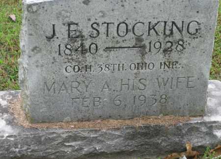 STOCKING (VETERAN UNION), JOSEPH EUGENE - Benton County, Arkansas   JOSEPH EUGENE STOCKING (VETERAN UNION) - Arkansas Gravestone Photos