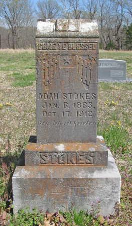 STOKES, ADAH - Benton County, Arkansas   ADAH STOKES - Arkansas Gravestone Photos