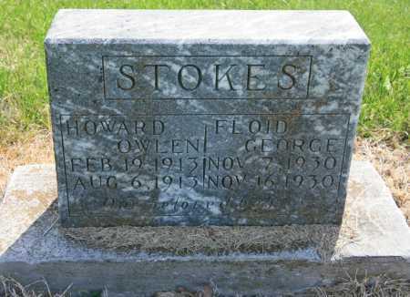 STOKES, HOWARD OWLEN - Benton County, Arkansas | HOWARD OWLEN STOKES - Arkansas Gravestone Photos