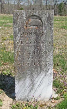 STOKES, JOHN C - Benton County, Arkansas   JOHN C STOKES - Arkansas Gravestone Photos