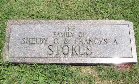 STOKES, SHELBY C.& FRANCES A. FAMILY - Benton County, Arkansas | SHELBY C.& FRANCES A. FAMILY STOKES - Arkansas Gravestone Photos