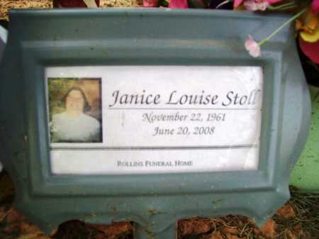 STOLL, JANICE LOUISE - Benton County, Arkansas | JANICE LOUISE STOLL - Arkansas Gravestone Photos