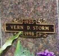 STORM, VERN D. - Benton County, Arkansas | VERN D. STORM - Arkansas Gravestone Photos