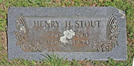 STOUT, HENRY H - Benton County, Arkansas | HENRY H STOUT - Arkansas Gravestone Photos