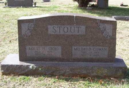 COWAN STOUT, MILDRED - Benton County, Arkansas | MILDRED COWAN STOUT - Arkansas Gravestone Photos