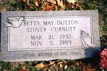 DUTTON STOVER-CURNUTT, BETTY MAY - Benton County, Arkansas | BETTY MAY DUTTON STOVER-CURNUTT - Arkansas Gravestone Photos