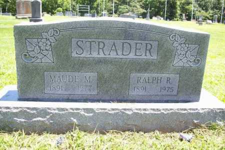 STRADER, RALPH R. - Benton County, Arkansas | RALPH R. STRADER - Arkansas Gravestone Photos
