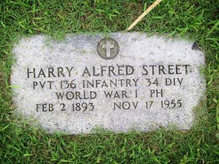 STREET (VETERAN WWI), HARRY ALFRED - Benton County, Arkansas   HARRY ALFRED STREET (VETERAN WWI) - Arkansas Gravestone Photos