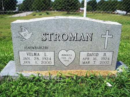 SNOWBARGER STROMAN, VELMA L. - Benton County, Arkansas | VELMA L. SNOWBARGER STROMAN - Arkansas Gravestone Photos