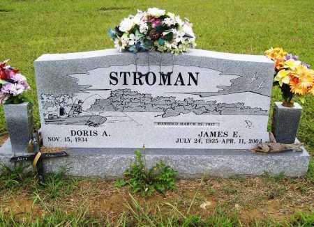 STROMAN, JAMES E. - Benton County, Arkansas   JAMES E. STROMAN - Arkansas Gravestone Photos