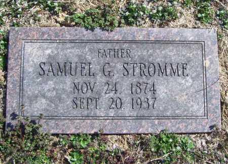 STROMME, SAMUEL G. - Benton County, Arkansas   SAMUEL G. STROMME - Arkansas Gravestone Photos
