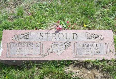 STROUD, CHAUNCIE L. - Benton County, Arkansas   CHAUNCIE L. STROUD - Arkansas Gravestone Photos