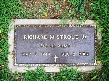 STROUD, JR (VETERAN), RICHARD M - Benton County, Arkansas | RICHARD M STROUD, JR (VETERAN) - Arkansas Gravestone Photos