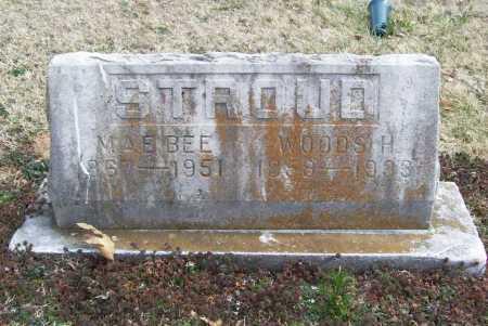 STROUD, WOODS H. - Benton County, Arkansas   WOODS H. STROUD - Arkansas Gravestone Photos