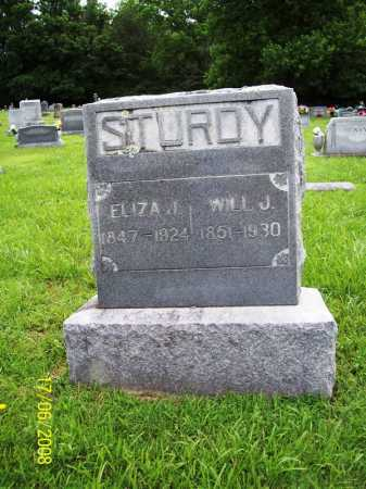 STURDY, WILL J - Benton County, Arkansas | WILL J STURDY - Arkansas Gravestone Photos