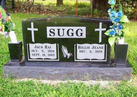 SUGG, JACK RAI - Benton County, Arkansas | JACK RAI SUGG - Arkansas Gravestone Photos