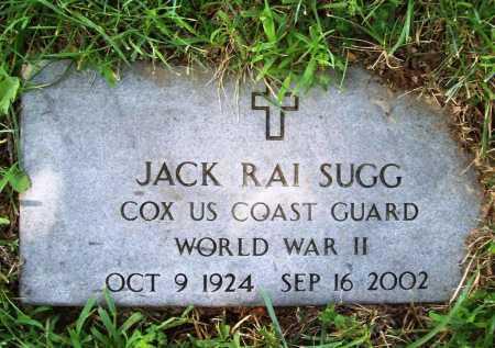 SUGG (VETERAN WWII), JACK RAI - Benton County, Arkansas   JACK RAI SUGG (VETERAN WWII) - Arkansas Gravestone Photos