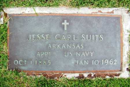 SUITS (VETERAN), JESSE CARL - Benton County, Arkansas | JESSE CARL SUITS (VETERAN) - Arkansas Gravestone Photos