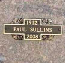 SULLINS, PAUL - Benton County, Arkansas | PAUL SULLINS - Arkansas Gravestone Photos
