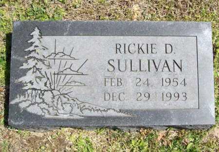 SULLIVAN, RICKIE D. - Benton County, Arkansas | RICKIE D. SULLIVAN - Arkansas Gravestone Photos