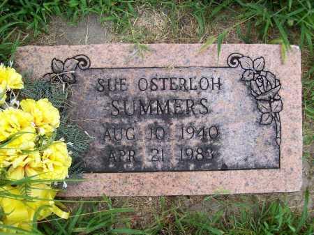 SUMMERS, SUE - Benton County, Arkansas | SUE SUMMERS - Arkansas Gravestone Photos