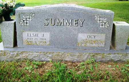 JOHNSON SUMMEY, ELSIE - Benton County, Arkansas | ELSIE JOHNSON SUMMEY - Arkansas Gravestone Photos