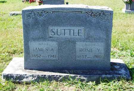 SUTTLE, ROSIE V. - Benton County, Arkansas | ROSIE V. SUTTLE - Arkansas Gravestone Photos