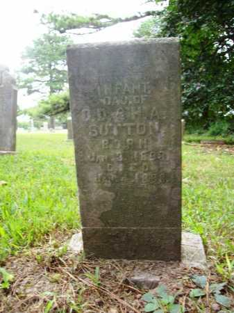 SUTTON, INFANT DAUGHTER - Benton County, Arkansas | INFANT DAUGHTER SUTTON - Arkansas Gravestone Photos