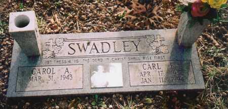 SWADLEY, CARL E. - Benton County, Arkansas | CARL E. SWADLEY - Arkansas Gravestone Photos