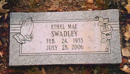 SWADLEY, ETHEL MAE - Benton County, Arkansas | ETHEL MAE SWADLEY - Arkansas Gravestone Photos