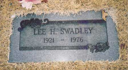 SWADLEY, LEE H. - Benton County, Arkansas | LEE H. SWADLEY - Arkansas Gravestone Photos