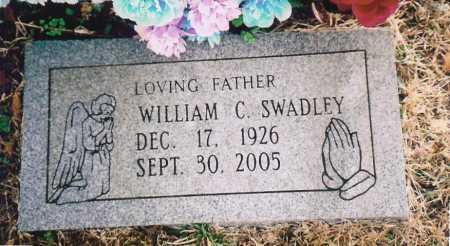 "SWADLEY, WILLIAM COLUMBUS 'BILL"" - Benton County, Arkansas | WILLIAM COLUMBUS 'BILL"" SWADLEY - Arkansas Gravestone Photos"